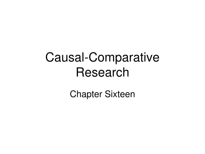 comparative research papers The volumes embrace a broad set topics, such as comparative studies of  universities as institutions for production and diffusion of knowledge family  policies.