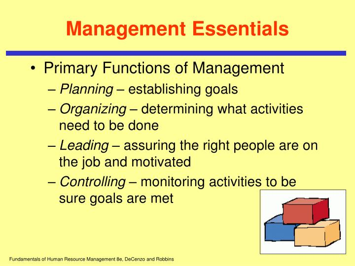 Management essentials1
