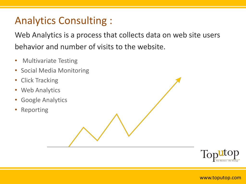 Analytics Consulting :