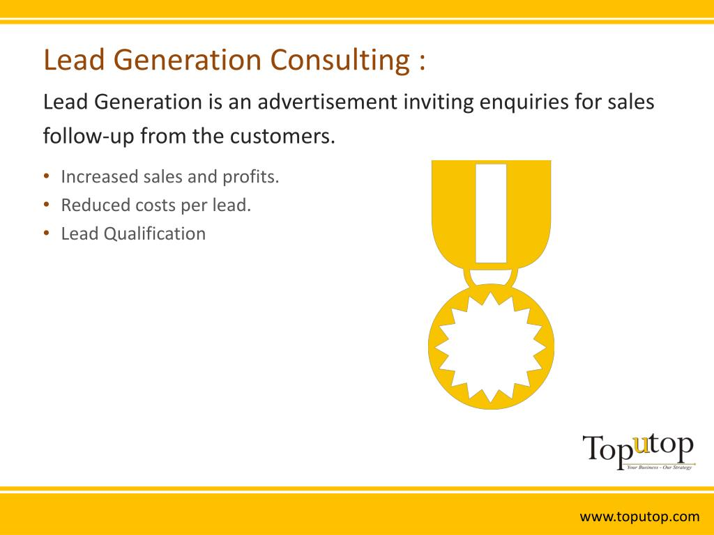 Lead Generation Consulting :