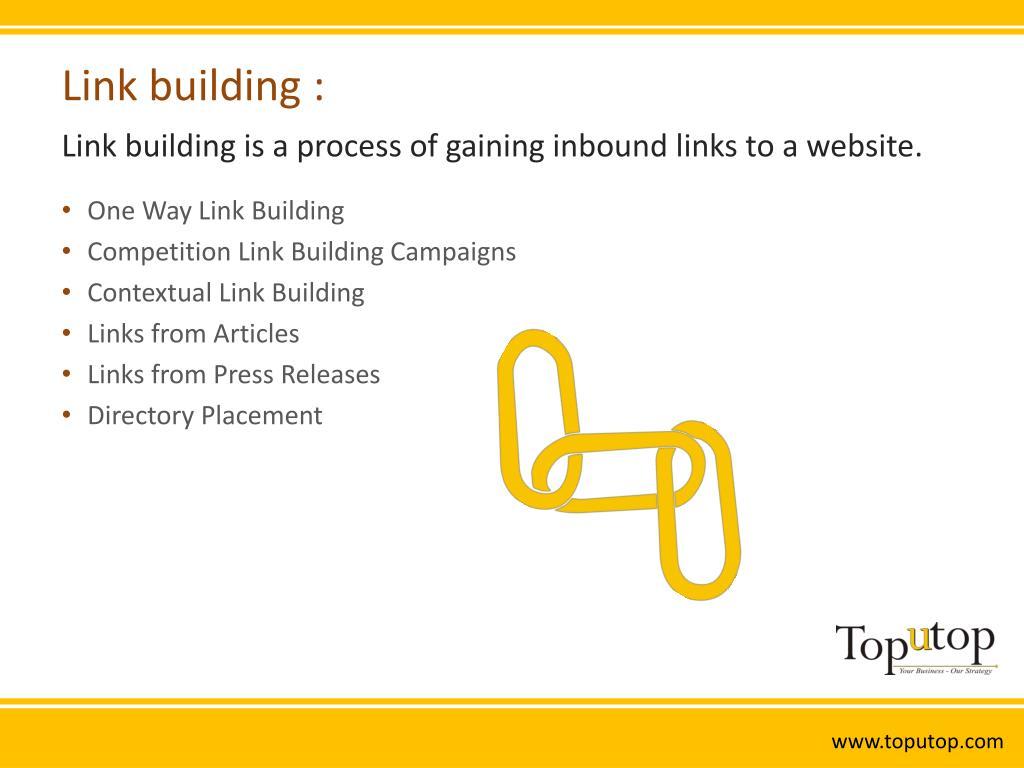 Link building :