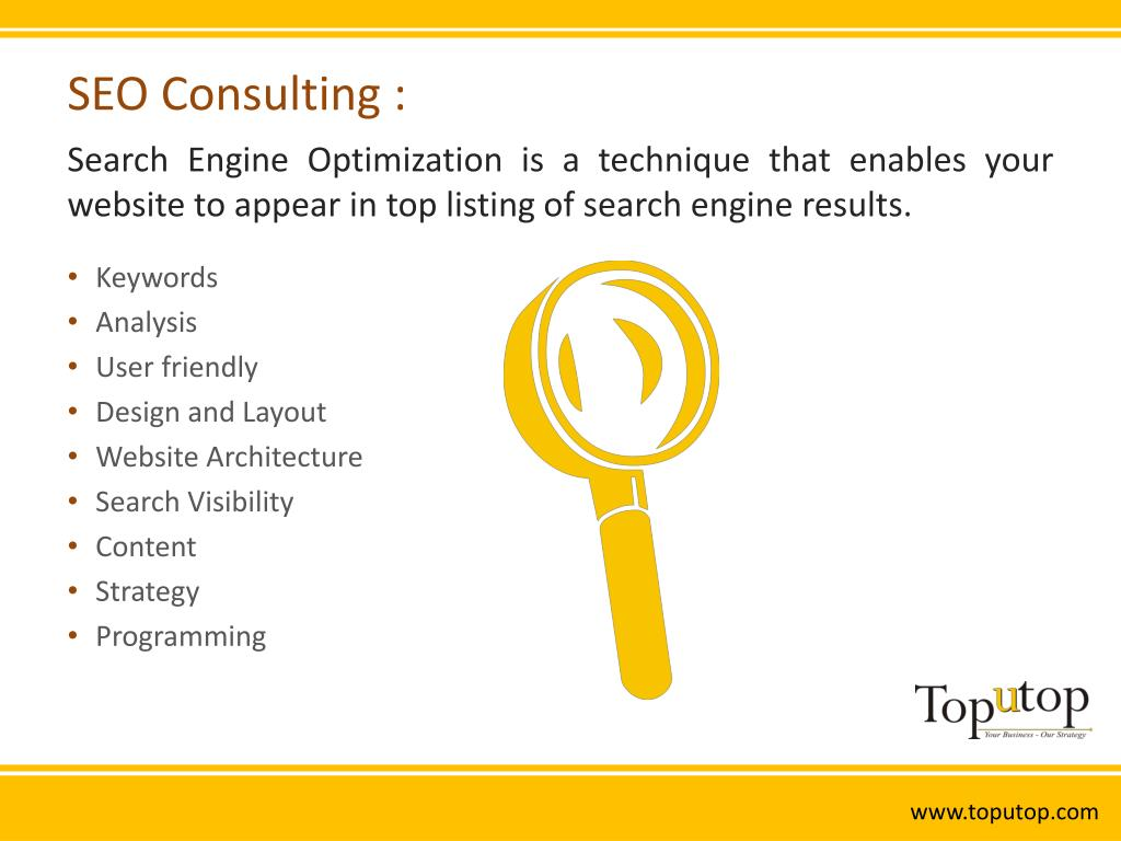 SEO Consulting :
