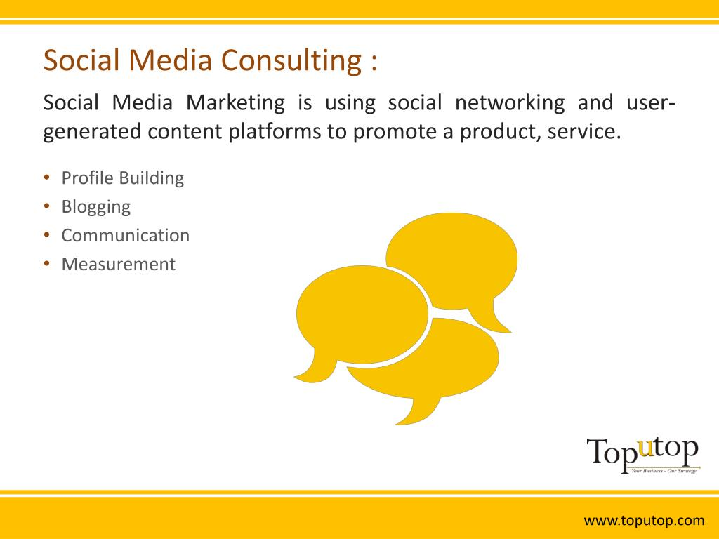 Social Media Consulting :