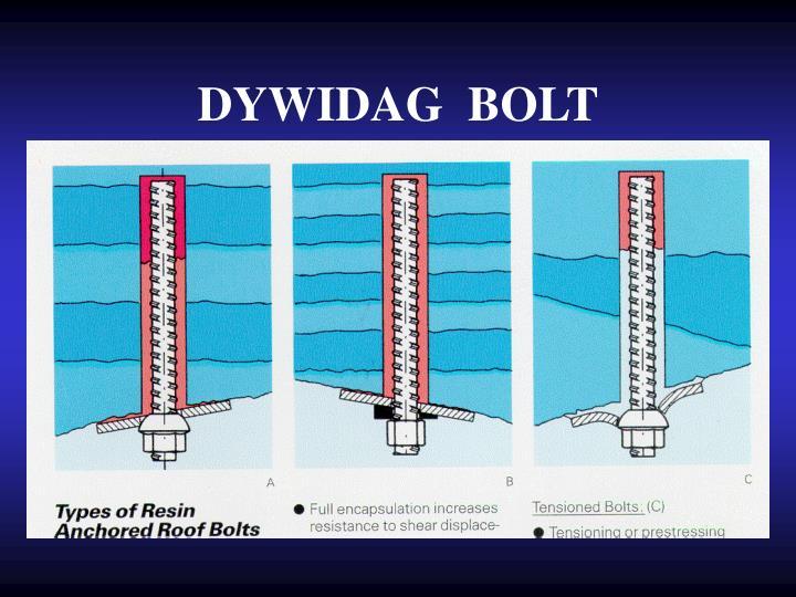 DYWIDAG  BOLT