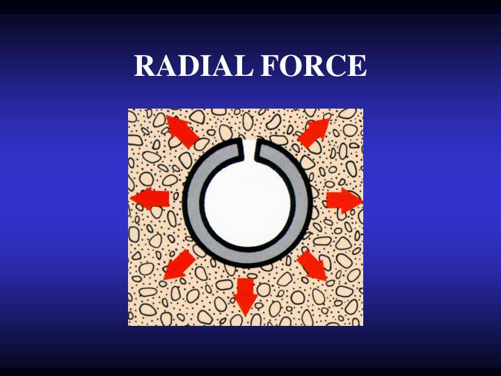 RADIAL FORCE