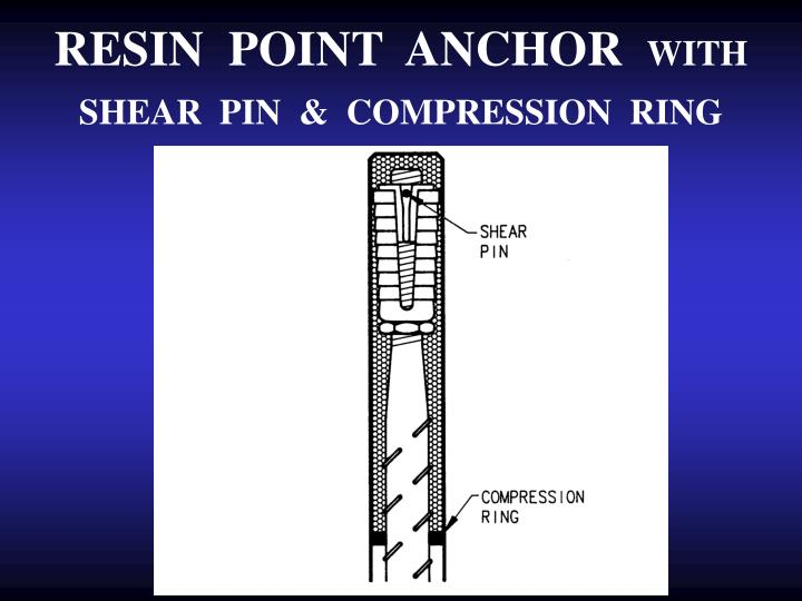 RESIN  POINT  ANCHOR