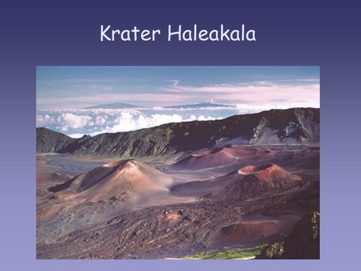 Krater Haleakala