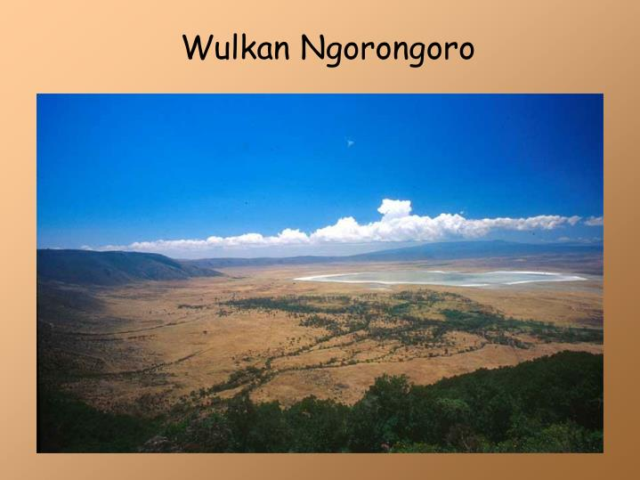 Wulkan Ngorongoro