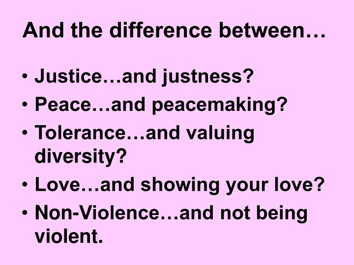 And the difference between…