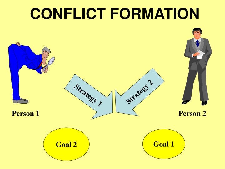 CONFLICT FORMATION