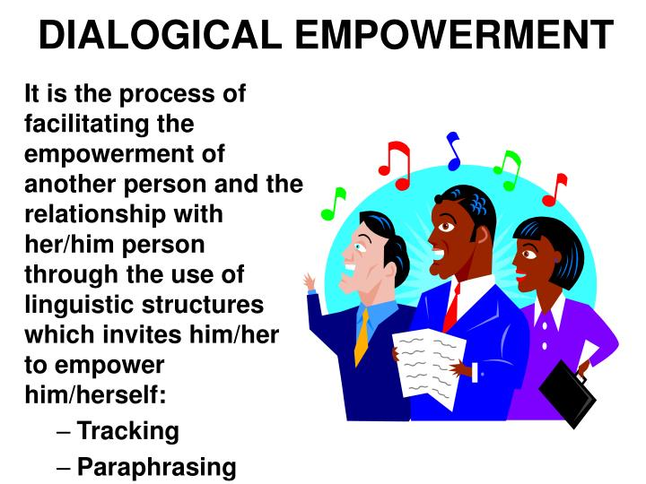 DIALOGICAL EMPOWERMENT
