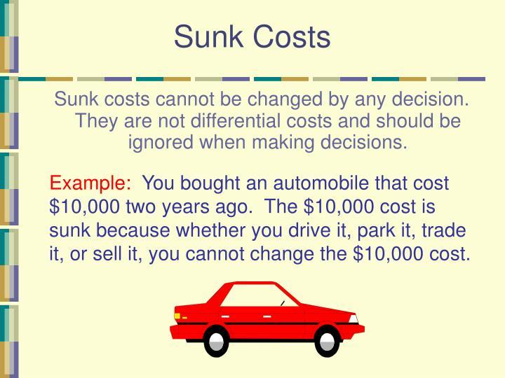 Sunk Costs
