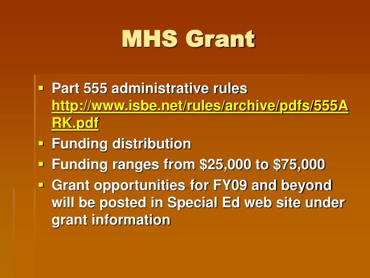 MHS Grant