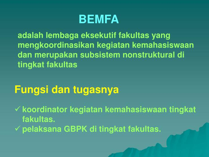 BEMFA