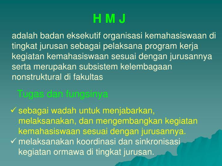 H M J