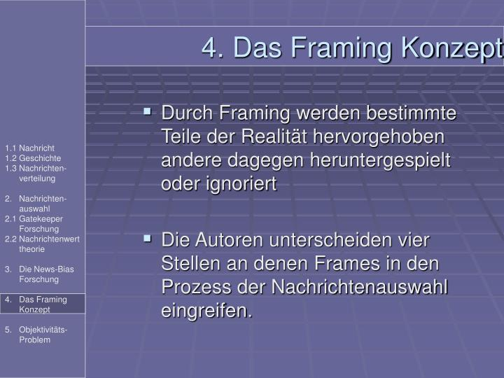 4. Das Framing Konzept