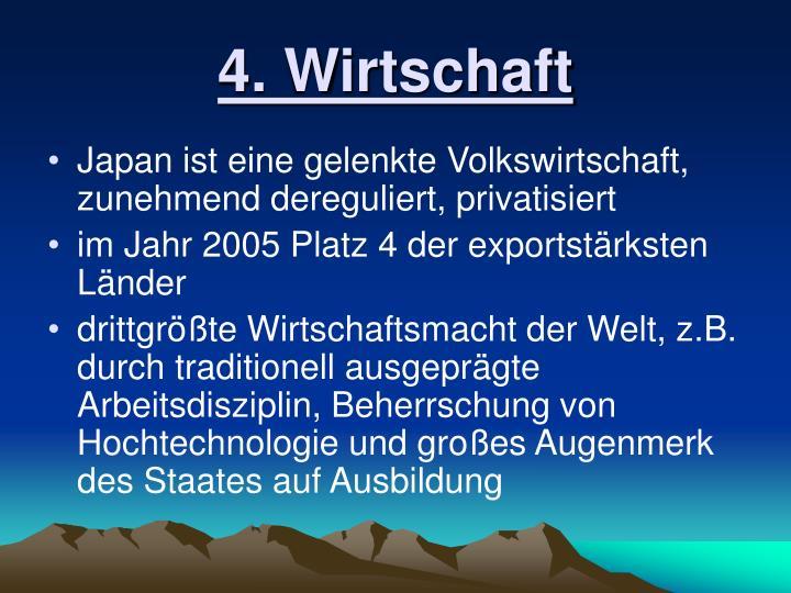 4. Wirtschaft
