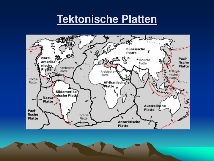 Tektonische Platten