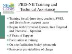 pbis nh training and technical assistance