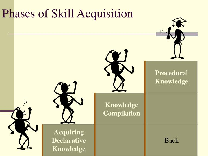 Phases of Skill Acquisition