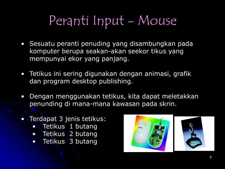 Peranti Input - Mouse