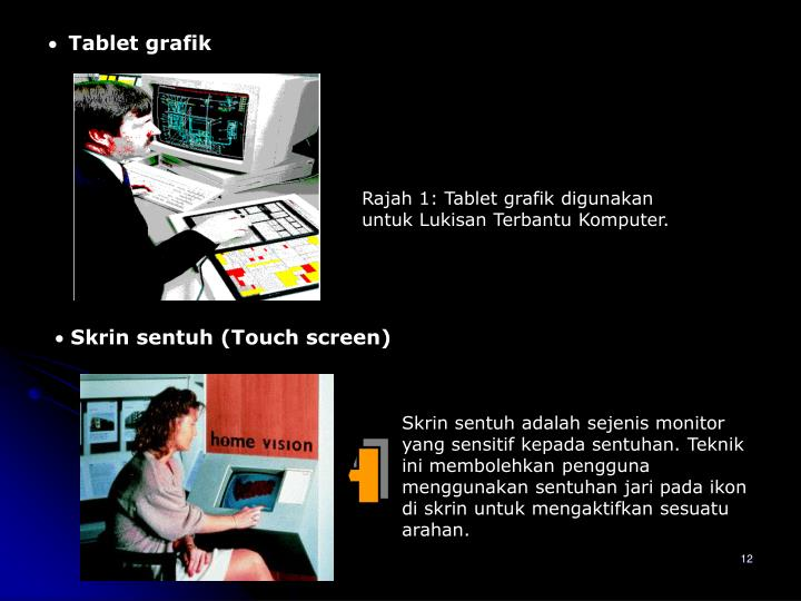Tablet grafik