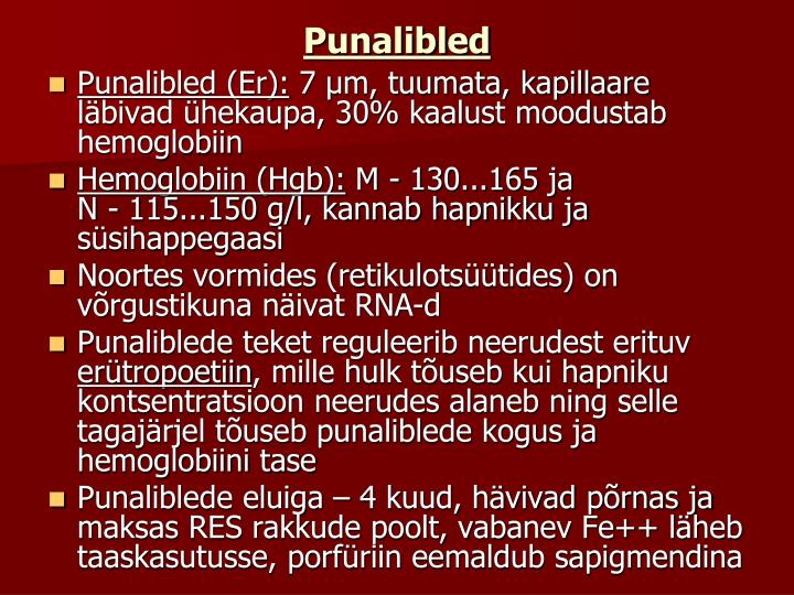 Punalibled