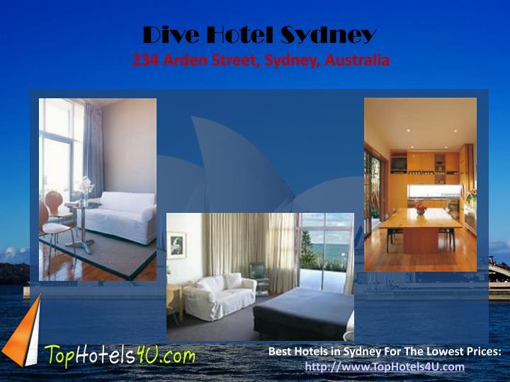 Dive Hotel Sydney
