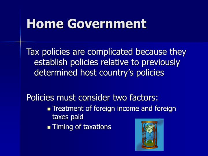 Home Government