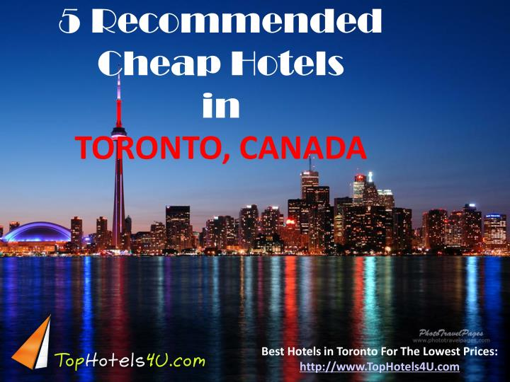 5 Recommended Cheap Hotels
