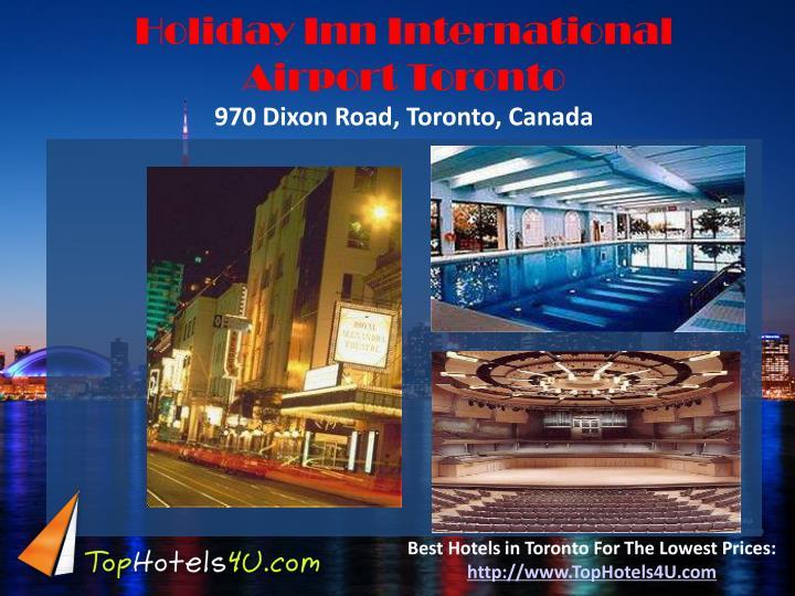 Holiday Inn International Airport Toronto