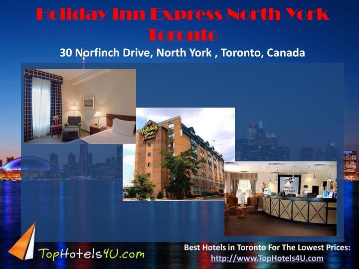 Holiday Inn Express North York Toronto