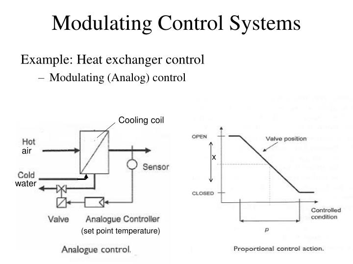 Example: Heat exchanger control