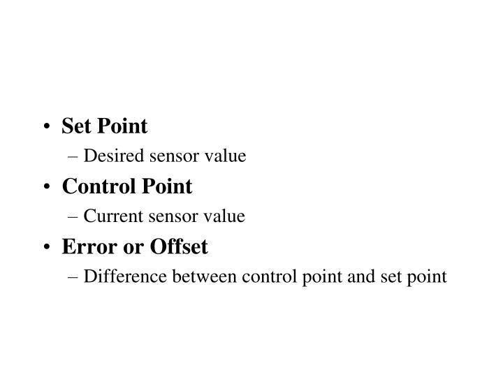 Set Point