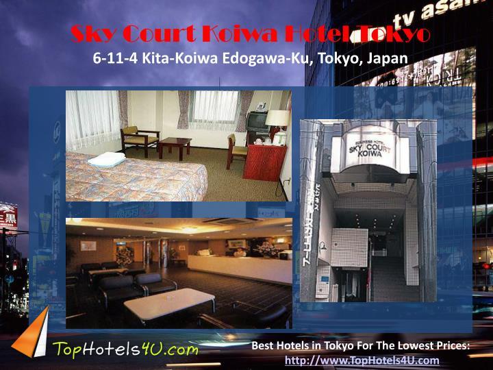 Sky Court Koiwa Hotel Tokyo