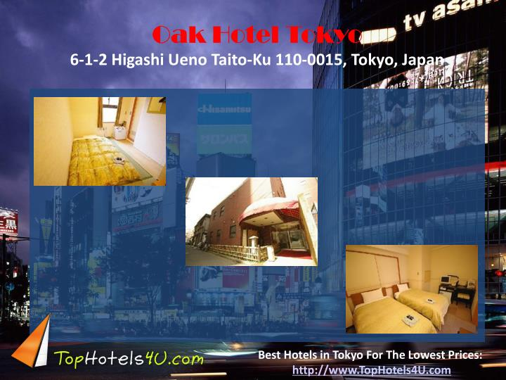 Oak Hotel Tokyo