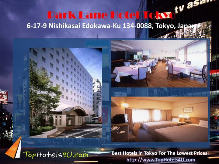 Park Lane Hotel Tokyo