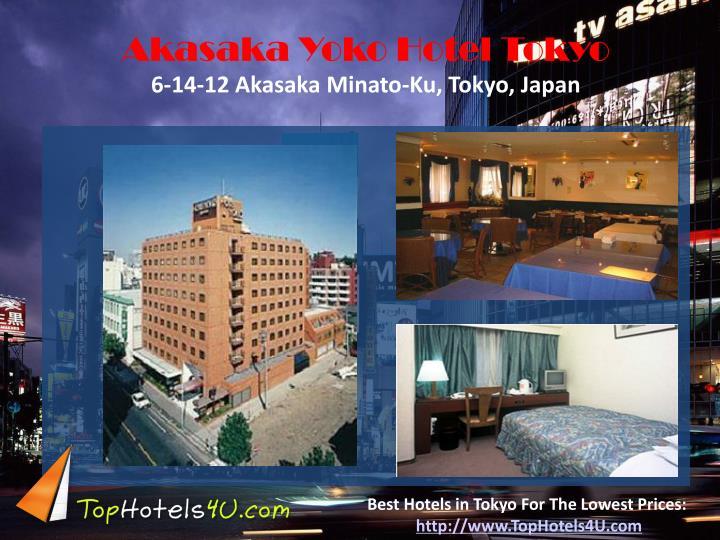 Akasaka Yoko Hotel Tokyo