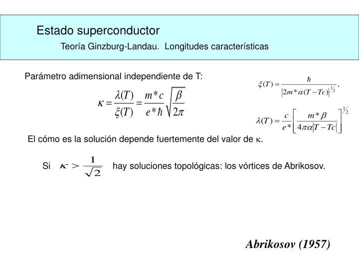 Estado superconductor