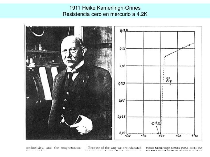 1911 Heike Kamerlingh-Onnes