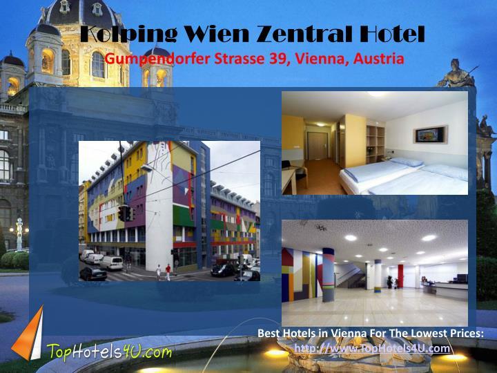 Kolping Wien Zentral Hotel