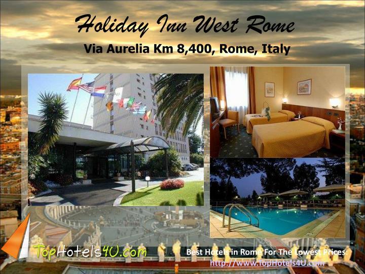 Holiday Inn West Rome