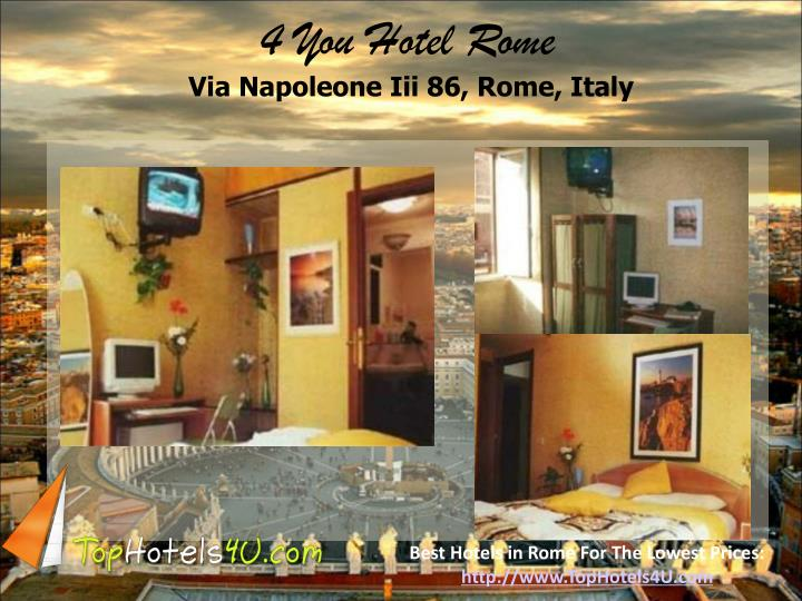 4 You Hotel Rome