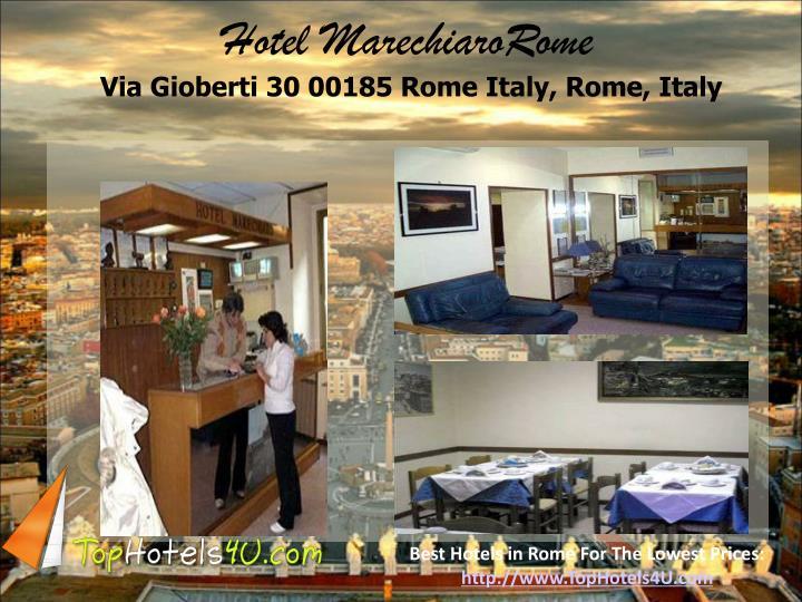 Hotel MarechiaroRome