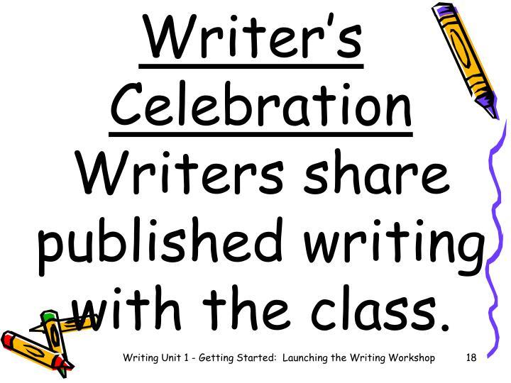 Writer's