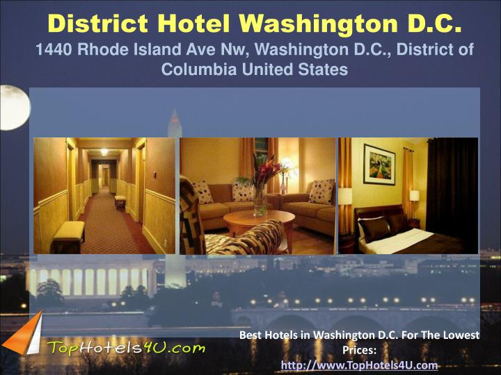 District Hotel Washington D.C.
