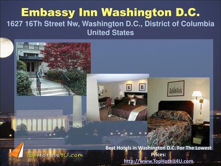 Embassy Inn Washington D.C.