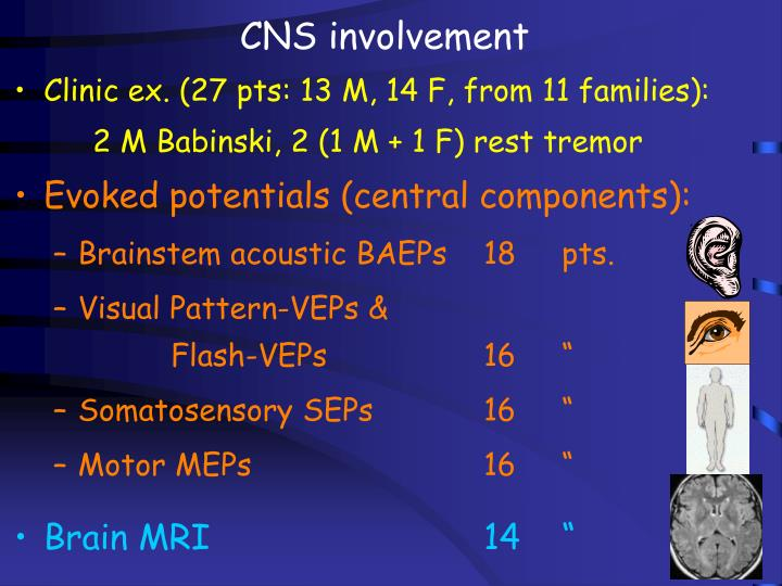 cns involvement in gbs brainstem auditory evoked potential On day 7, auditory evoked brainstem responses showed the absence of  active  denervation potentials (positive sharp waves or fibrillation potentials) were   doubted the presence of bbe and considered that cns involvement in gbs  could.