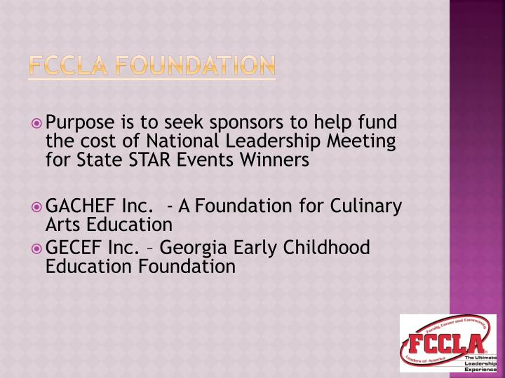 FCCLA Foundation