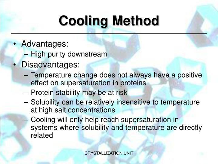 Cooling Method